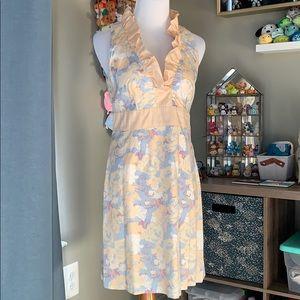 Forever21 sleeveless, low-v neck dress